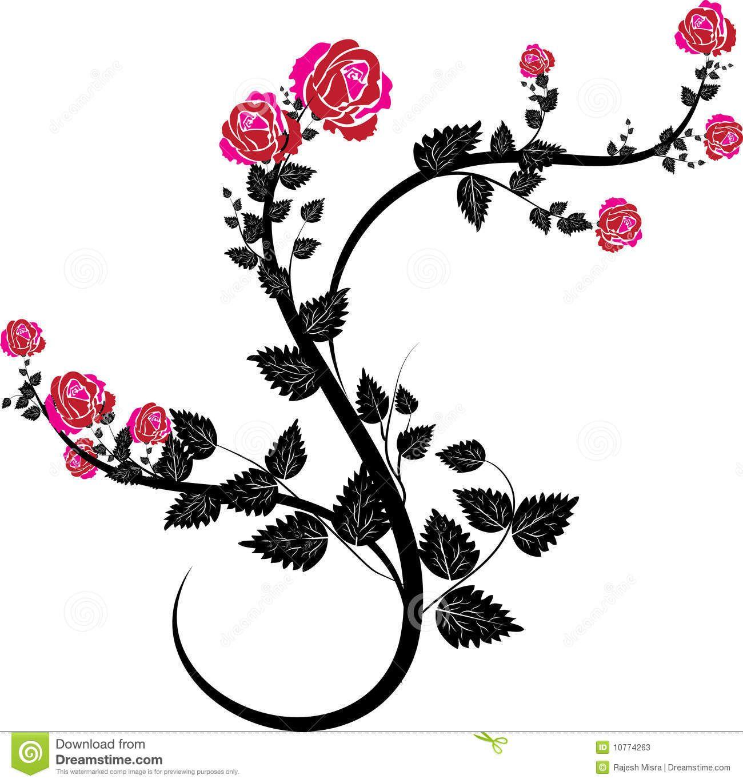 Rosevine clipart clipart download Rose Vine Clip Art | Red Rose Vine Clip Art - Gallery | Art ... clipart download