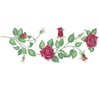 Rosevine clipart clipart black and white download Rose vine clipart » Clipart Portal clipart black and white download