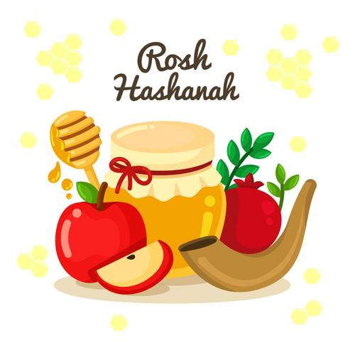 Rosh hashanah clipart images picture free download Rosh Hashanah Jewish New Year Elements Design - Download ... picture free download