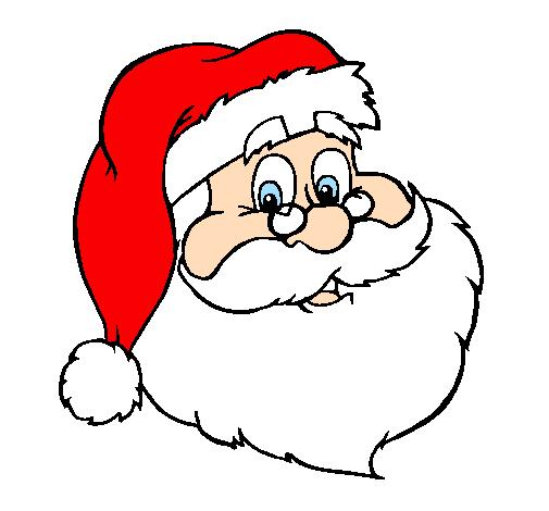 Rosto papai noel clipart image royalty free desenho colorido de papai noel   Desenho de santa claus ... image royalty free