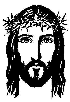 Rostro de cristo clipart clip art royalty free download El rostro de Jesús de Nazaret. | dibujos | Rostro de jesús ... clip art royalty free download