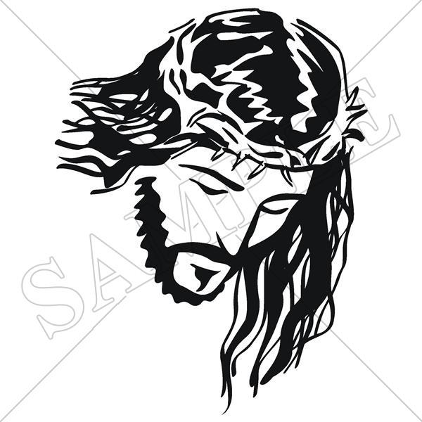 Rostro de cristo clipart svg transparent stock EasySIGN jesus0002 - Jesus - Vector Images Downloadable ... svg transparent stock