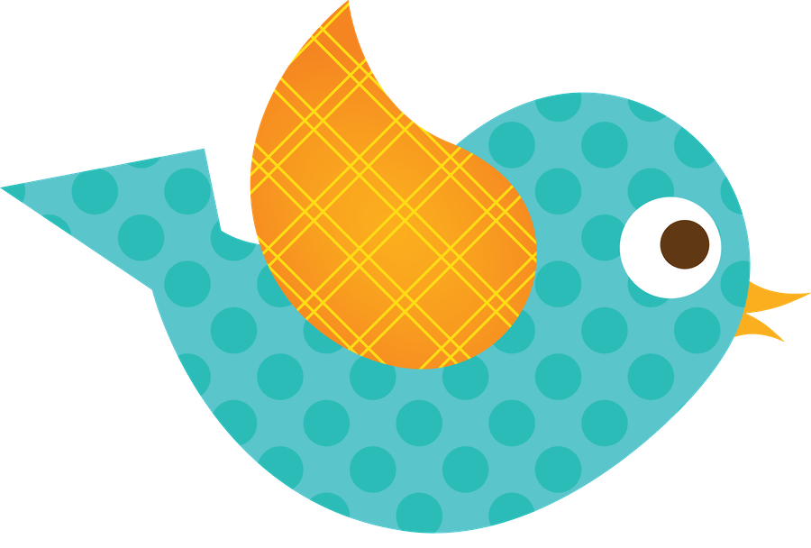 Passarinhos 2 - Minus | Clip Art-Animals/Birds/Fish, Etc ... banner black and white library