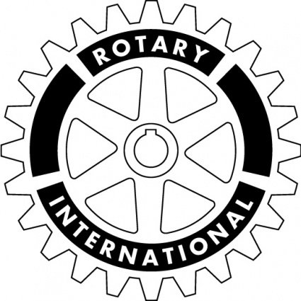 Rotary clipart jpg black and white stock Free Rotary International logo Clipart and Vector Graphics ... jpg black and white stock