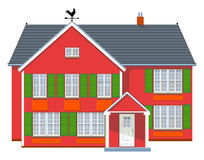Rotes haus clipart picture free Homely Stock Illustrations – 780 Homely Stock Illustrations ... picture free
