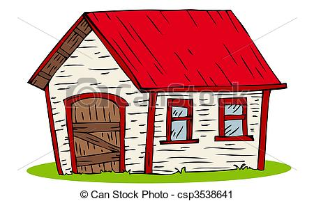 Rotes haus clipart png transparent stock Vektor Clip Art von haus, rotes, Dach - rotes, Dach, haus ... png transparent stock