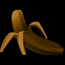 Rotten banana clipart svg black and white Rotten Banana Clipart - Clip Art Library svg black and white