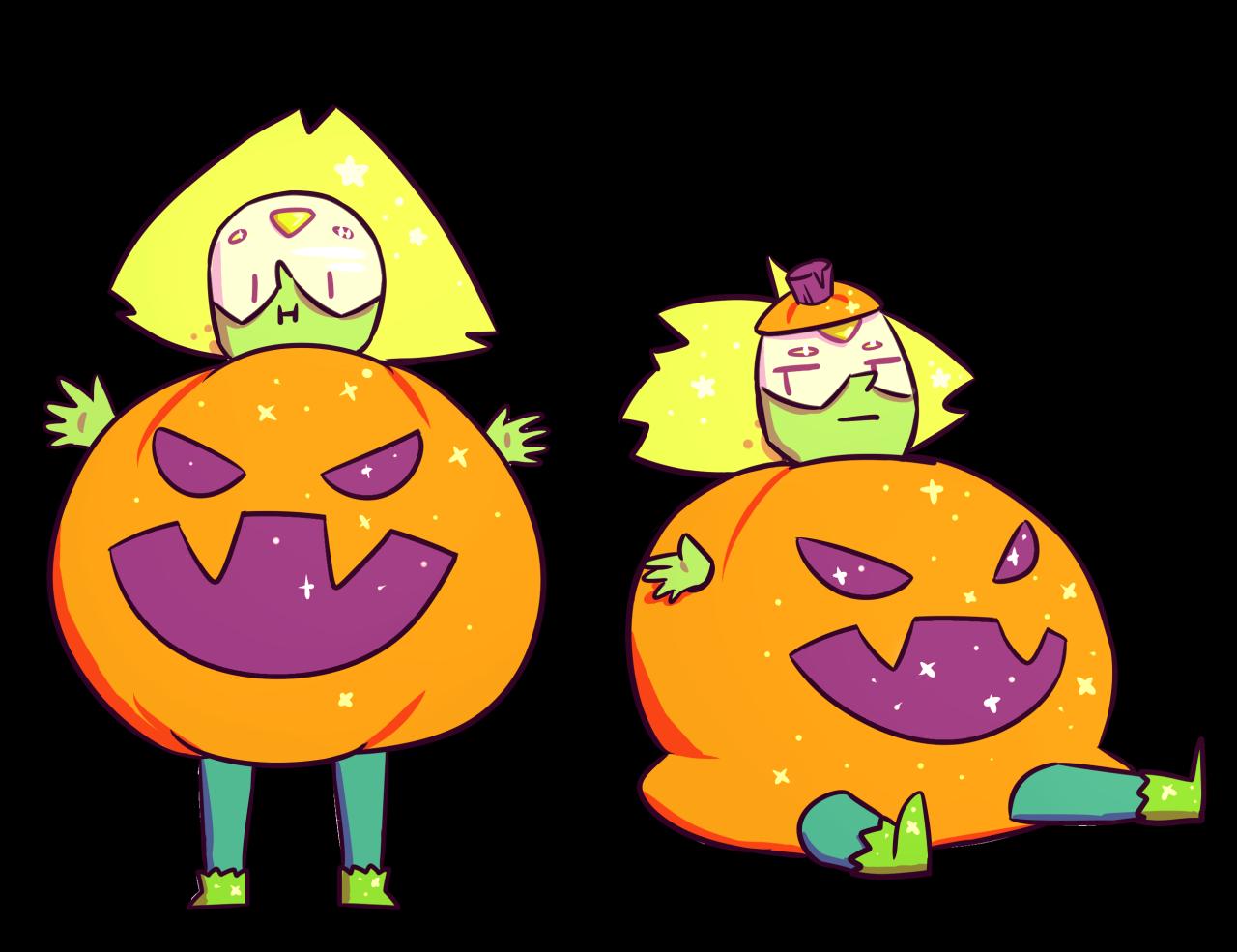 Rotten pumpkin clipart transparent stock Peridot in a Pumpkin Costume | Steven Universe | Know Your Meme transparent stock