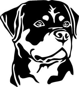 Rottwieler clipart clip royalty free download Image result for rottweiler clipart black and white | Cricut ... clip royalty free download