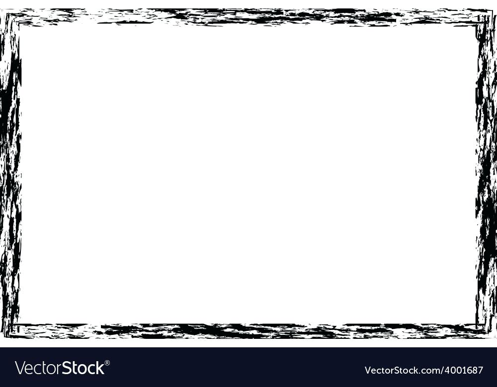 Rough frame clipart banner black and white border vector – FriendlyGa banner black and white