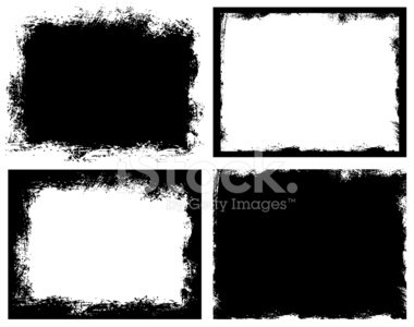Rough frame clipart graphic stock Set of Grunge Broken Dirty Rough Frames premium clipart ... graphic stock