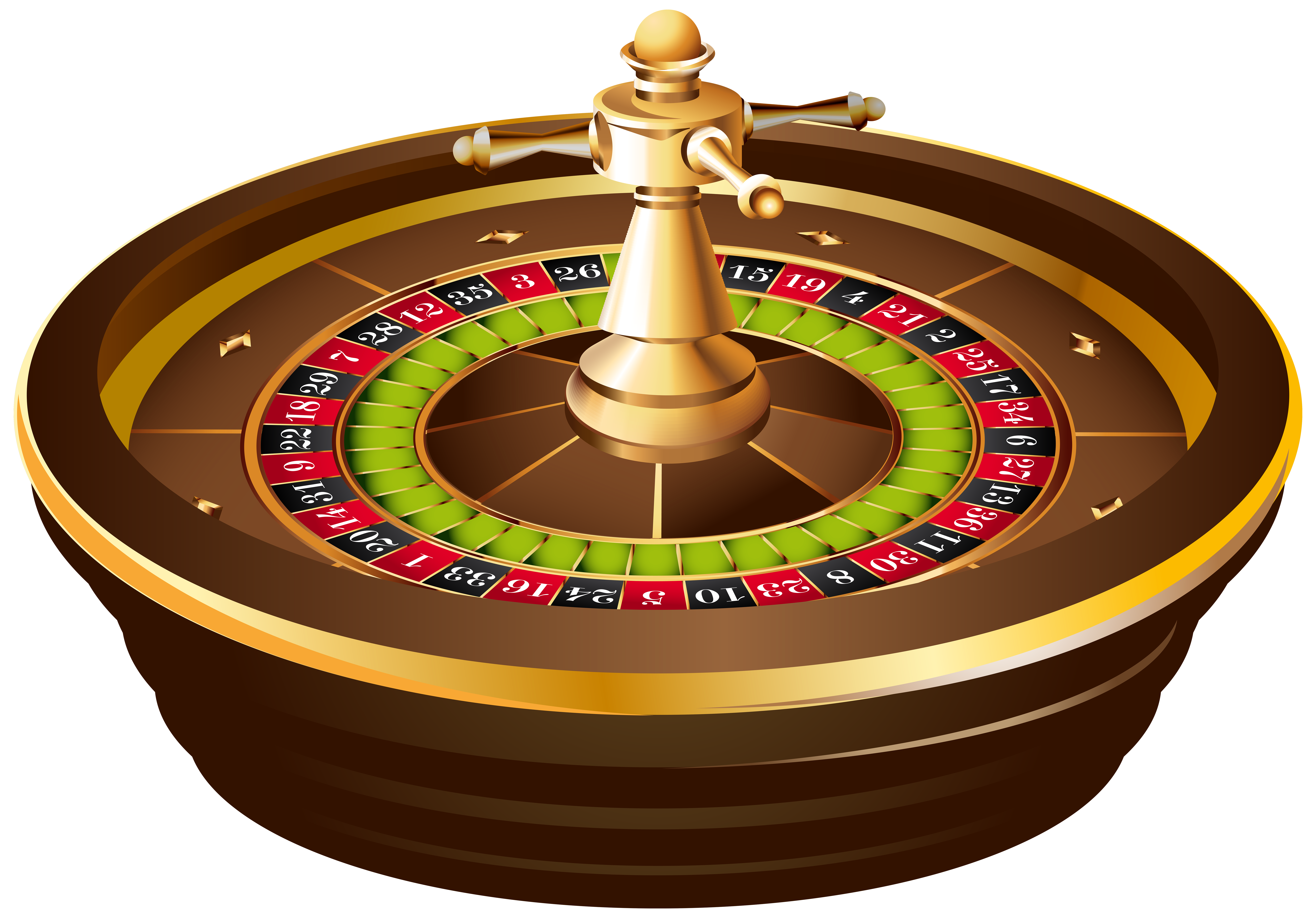 Roulette clipart png library library Casino Roulette PNG Clip Art - Best WEB Clipart png library library