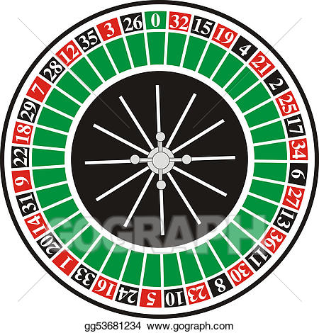Roulette clipart royalty free Stock Illustration - Roulette 3. Clipart Drawing gg53681234 ... royalty free