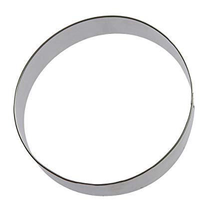 Round biscuit cutters clipart graphic freeuse stock Foose Round Circle Cookie Cutter 5 in graphic freeuse stock