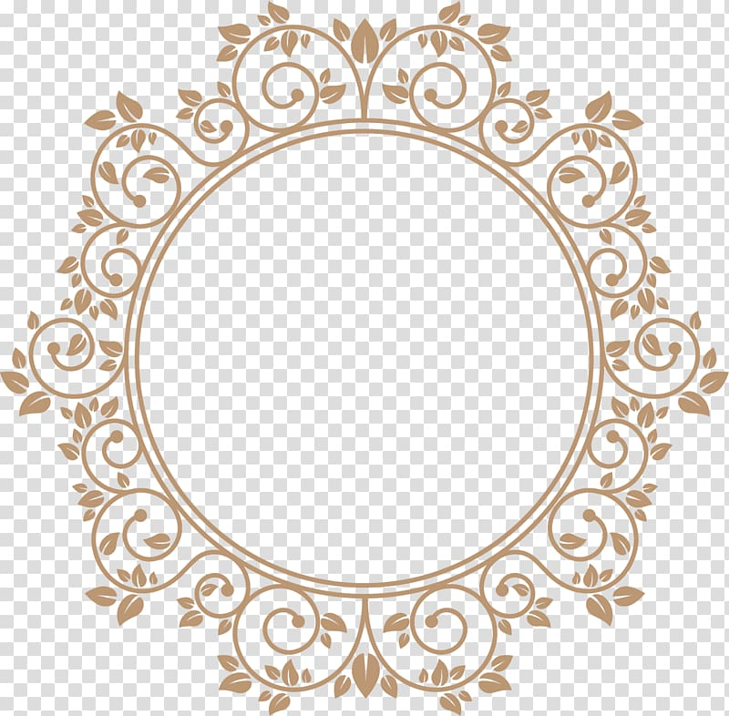 Round circle gold border with white center clipart image royalty free Brown flower decoration, Sugar Creek Roger T. Sermon Center ... image royalty free