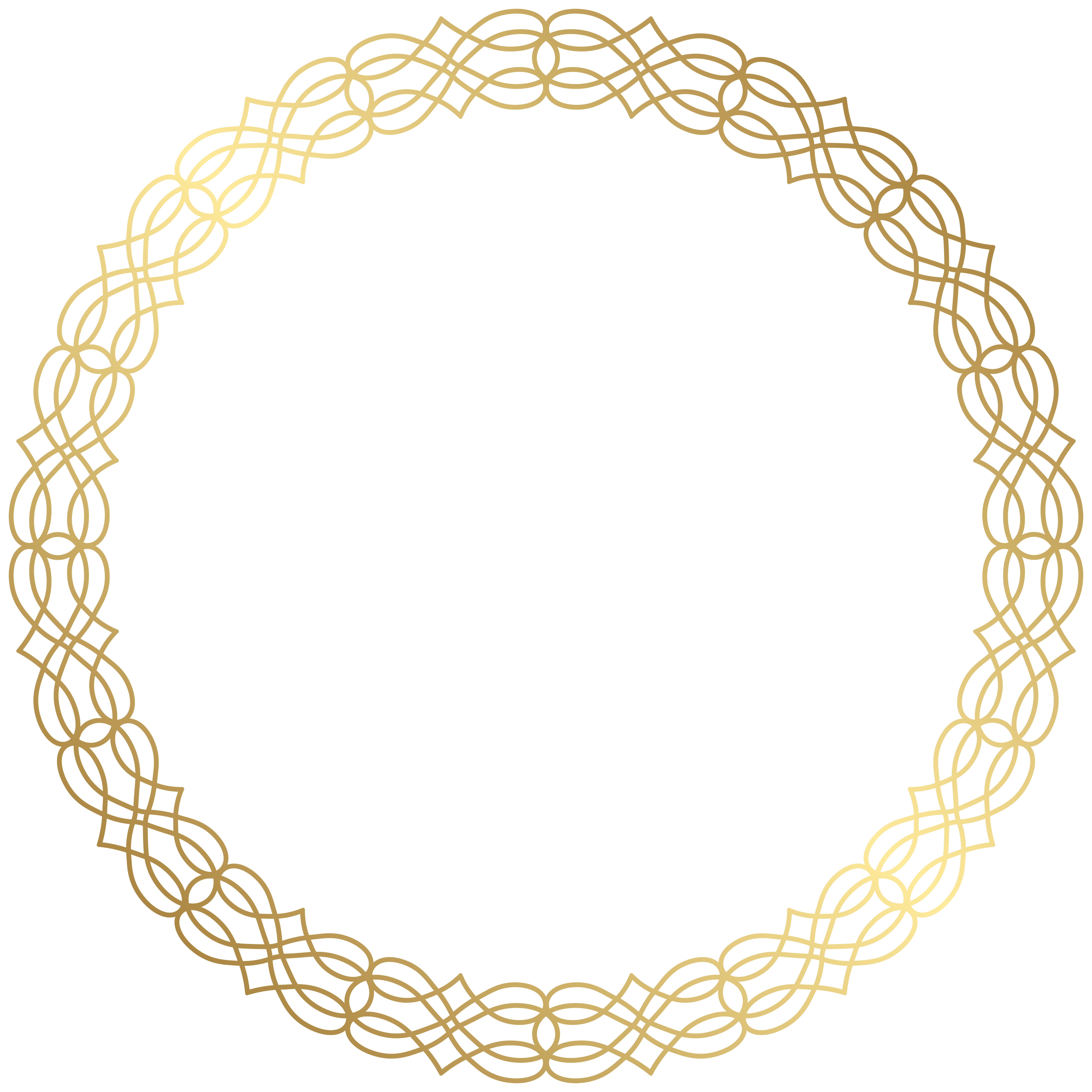 Round circle gold border with white center clipart clipart Circle Gold Clip art - Round Gold Border Transparent PNG ... clipart