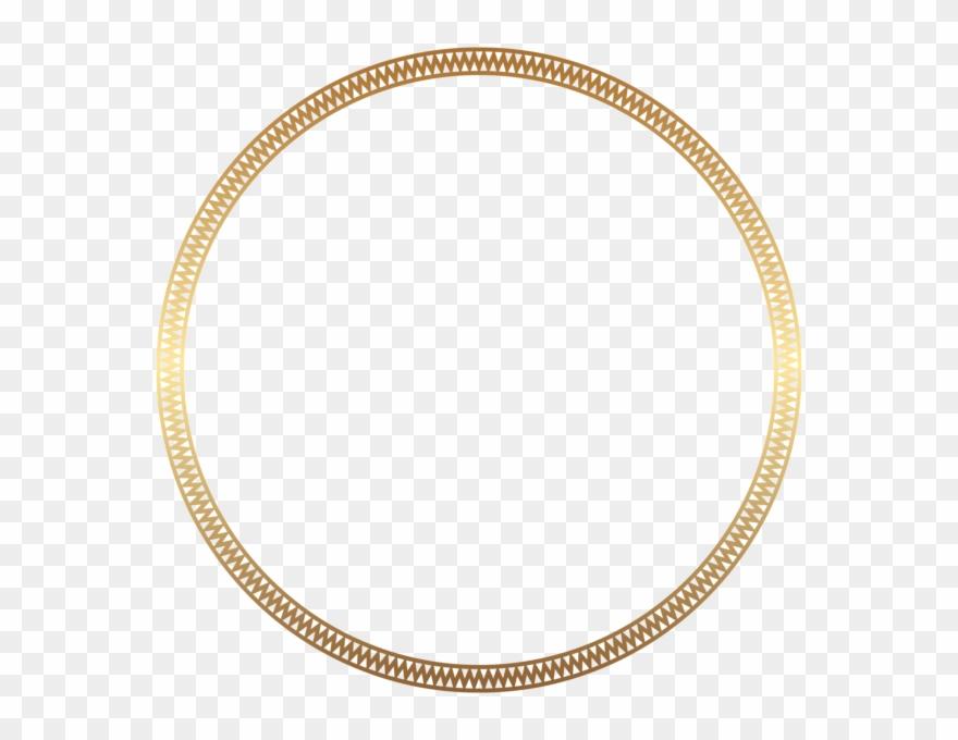 Round circle gold border with white center clipart freeuse Round Frame Border Gold Clip Art - Costco Wholesale Korea ... freeuse