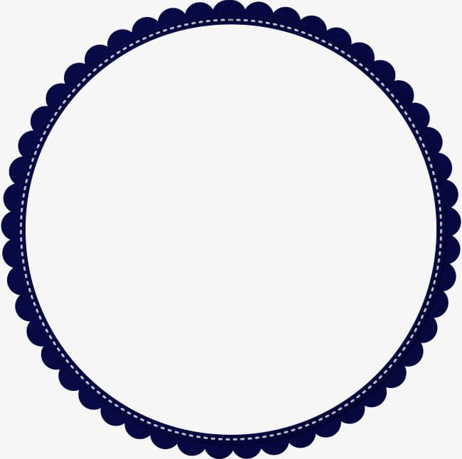 Round clipart black and white stock Round Flower Border PNG, Clipart, Border Clipart, Decoration ... black and white stock