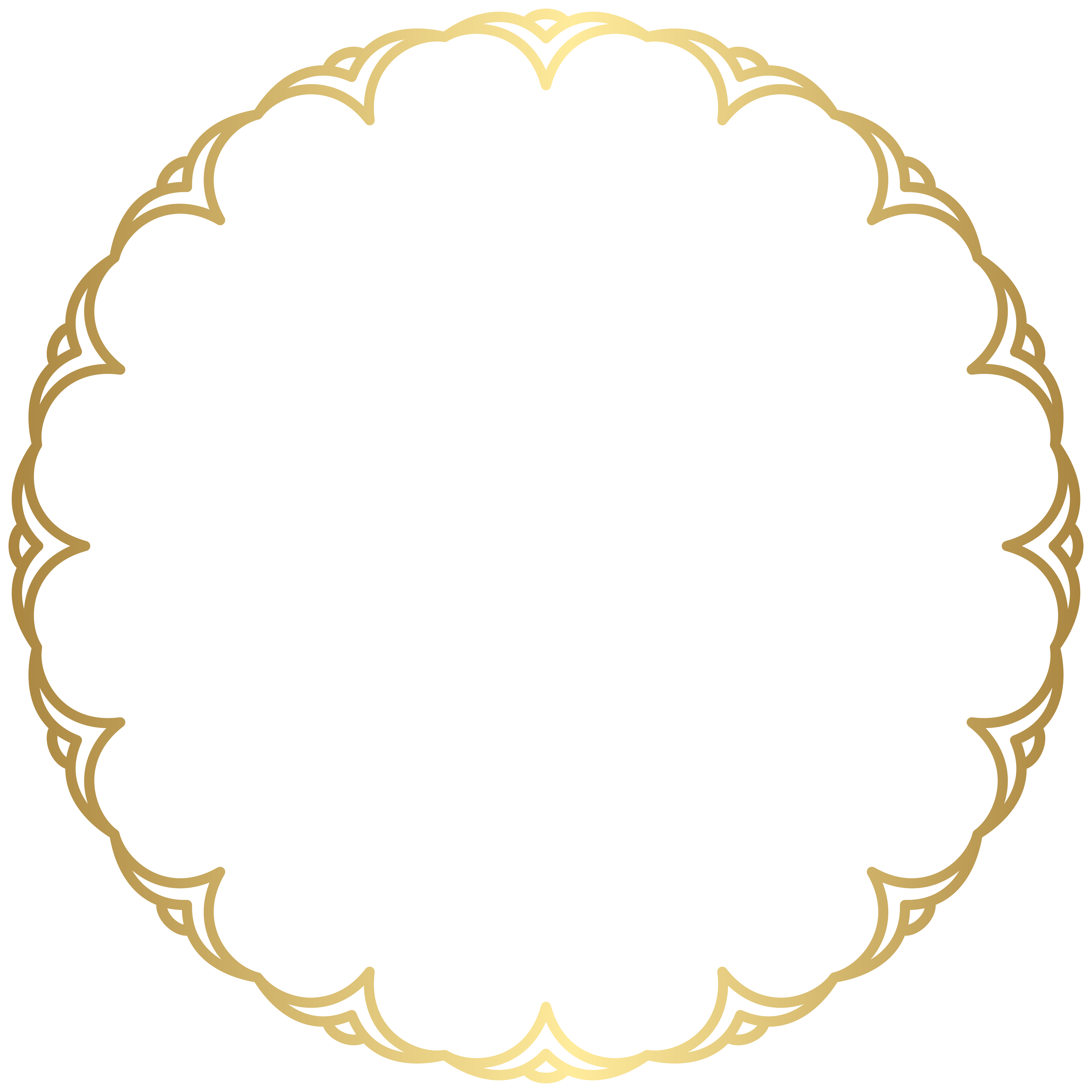 Round clipart picture transparent library Border Frame Round PNG Clipart | Gallery Yopriceville ... picture transparent library