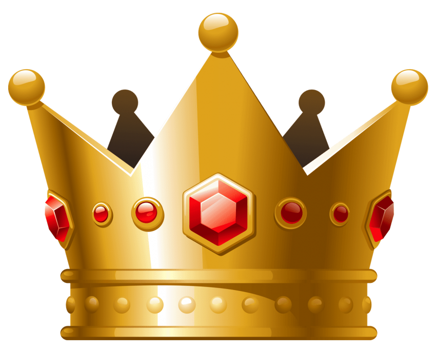 Round crown clipart free library golden crown png - Free PNG Images | TOPpng free library