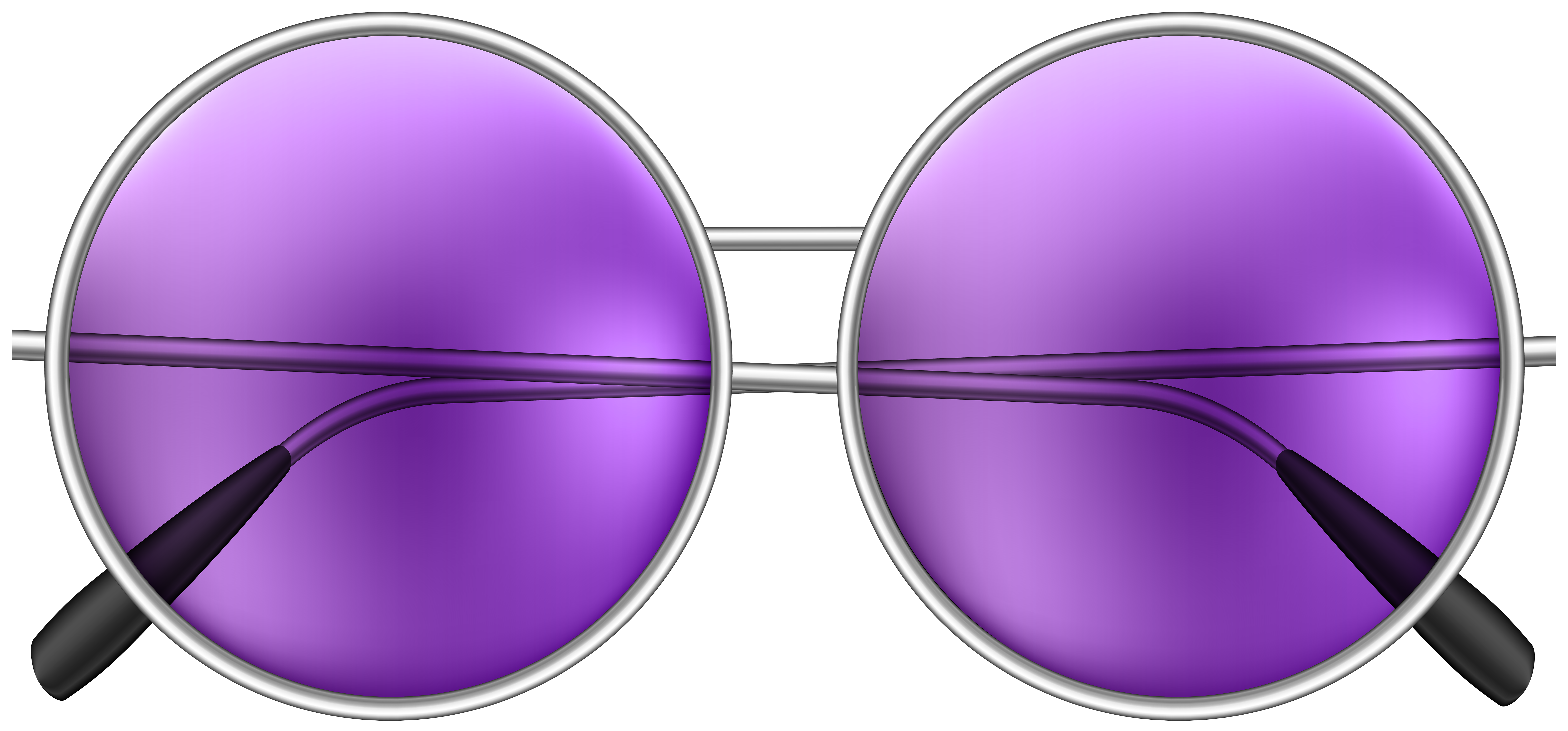 Round goggles clipart clip transparent library Round Sunglasses Purple PNG Clip Art Image | Gallery ... clip transparent library