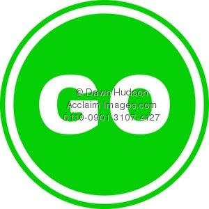 Round green clipart image download Round Green Go Sign | Clipart Panda - Free Clipart Images image download