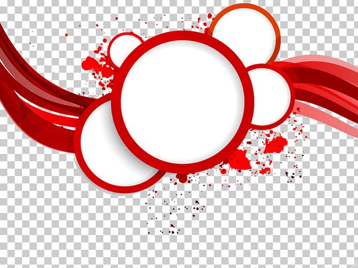 Round red picture frame clipart for text clip art freeuse stock Red Circle Abstract Art PNG, Clipart, Border, Border Frame ... clip art freeuse stock