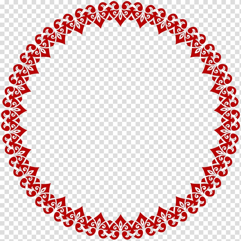 Round red picture frame clipart for text jpg library library Red floral border, Towel Circle , Heart Round Border Frame ... jpg library library