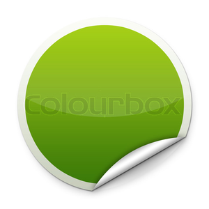 Round sticker clipart svg stock Green Round Sticker | Free Images at Clker.com - vector clip ... svg stock