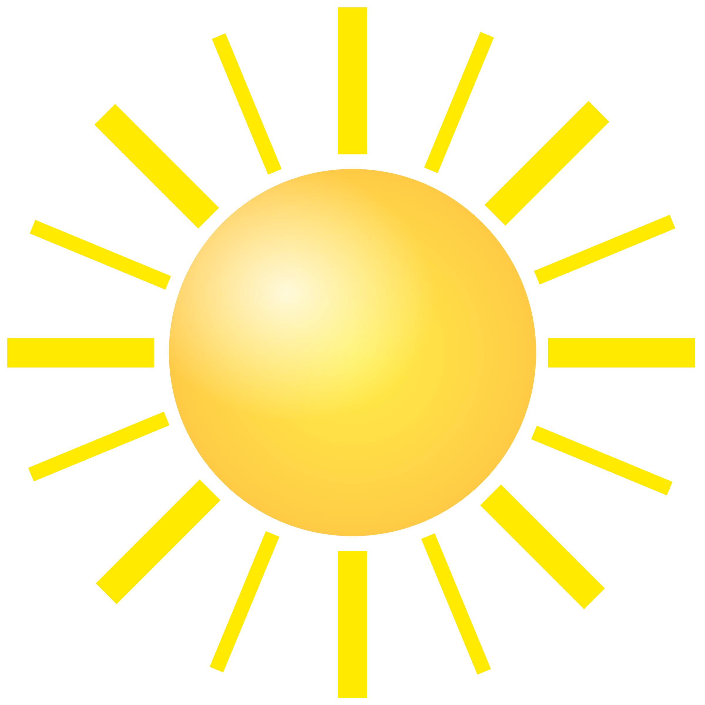 Sun clipart with 22 rays banner free Clipart - sun banner free