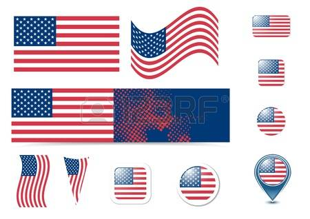 Round us flag clipart image royalty free download 3,667 Round American Flag Stock Vector Illustration And Royalty ... image royalty free download