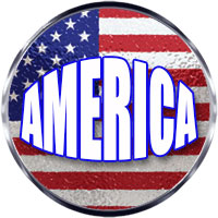 Round us flag clipart vector transparent download Free American Flag Gifs - American Flag Animations - Patriotic Clipart vector transparent download