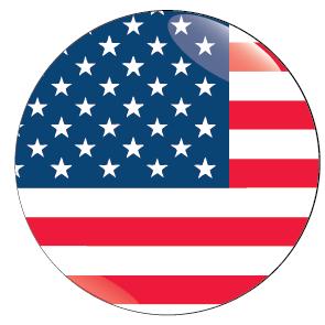 Round us flag clipart svg black and white stock Country Of Usa Clipart - Clipart Kid svg black and white stock
