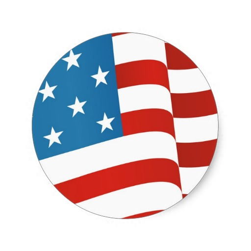 Round us flag clipart vector freeuse Round Flag - ClipArt Best vector freeuse