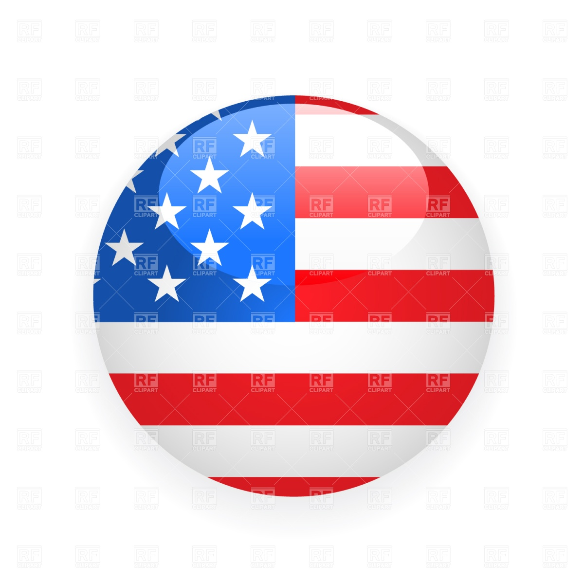 Round us flag clipart jpg library library Round us flag clipart - ClipartFest jpg library library