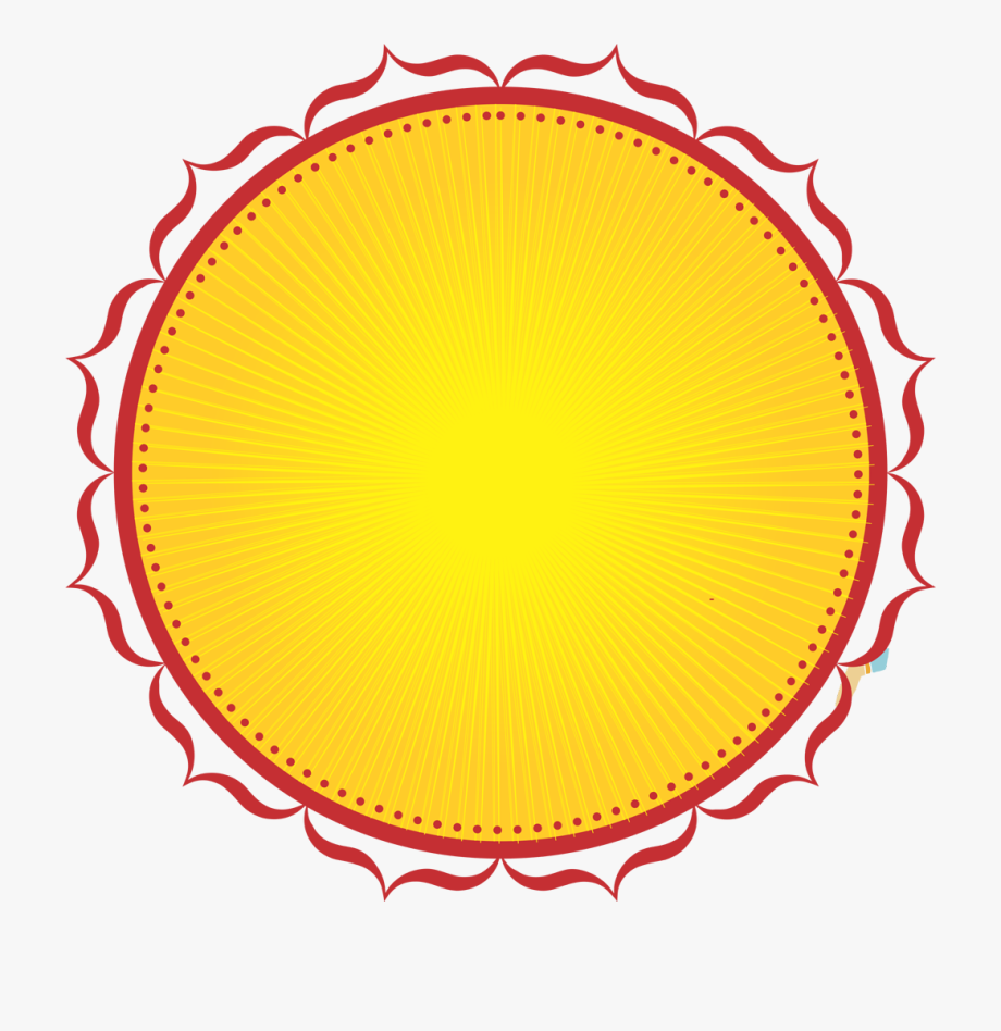 Yellow label clipart png Festival Label Vector Round - Vector Round Design Png ... png