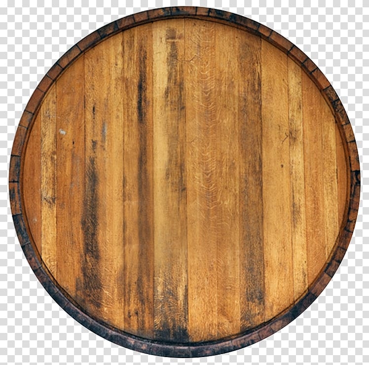 Wooden barrel top clipart