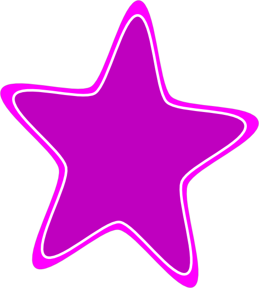 Rounded Star Clip Art at Clker.com - vector clip art online, royalty ... picture free