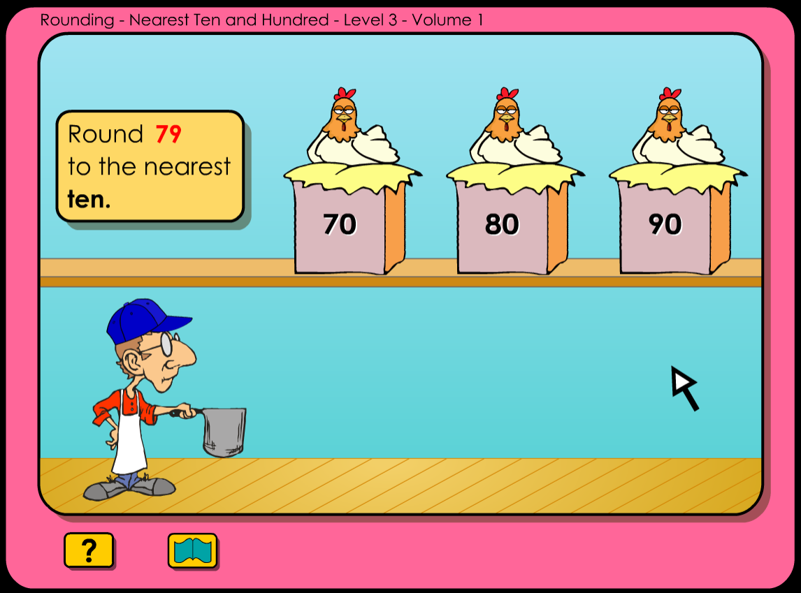 Rounding to the nearest ten and hundred clipart clip free library Rounding - Level 3 - Volume 1 - Nearest Ten and Hundred ... clip free library
