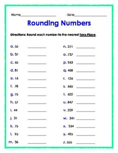 Rounding to the nearest ten and hundred clipart black and white stock 66 Best Rounding images in 2015 | Teaching math, Math round ... black and white stock