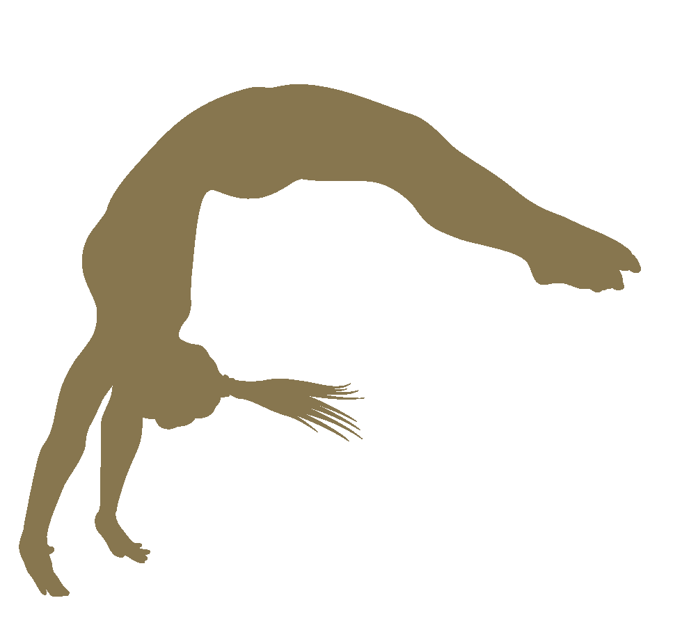 Roundoff handspring full clipart black and white Handspring Flip Clip art Gymnastics Tumbling - gymnast doing ... black and white