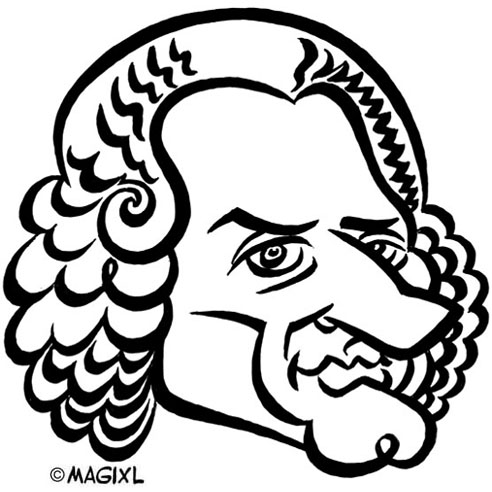 Rousseau clipart svg royalty free stock Caricatures of Writers svg royalty free stock
