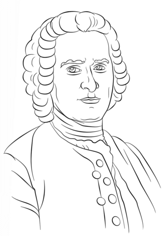 Rousseau clipart clipart library stock Jean-Jacques Rousseau coloring page | Free Printable ... clipart library stock