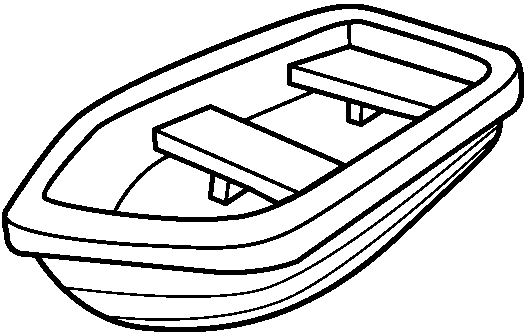 Row boat clipart graphic transparent library Row Boat Black And White Clipart - Clipart Kid graphic transparent library
