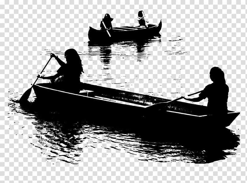 Row boat silhouette clipart banner library Canoe , boat transparent background PNG clipart | HiClipart banner library
