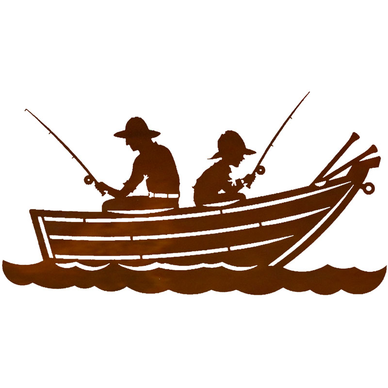 Row boat silhouette clipart clip art black and white library Free Fishing Boat Silhouette Clip Art, Download Free Clip ... clip art black and white library