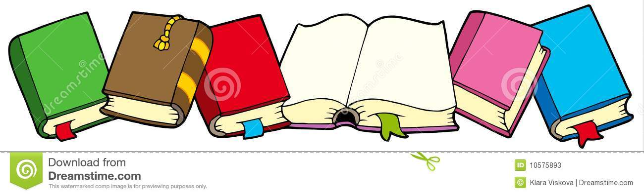 Row books clipart graphic free library Row books clipart - ClipartFest graphic free library
