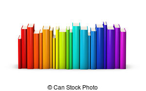 Row books clipart graphic library library Books in a row clipart - ClipartFest graphic library library