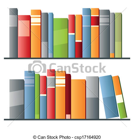 Row books clipart image royalty free library Vector Illustration of Books in a row on white background. Vector ... image royalty free library