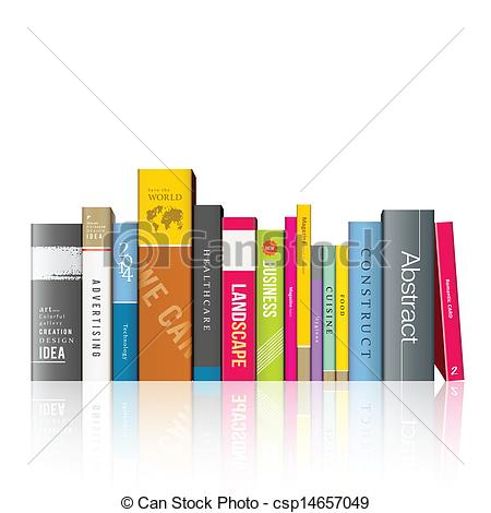 Row books clipart vector black and white Rows of books clipart - ClipartFest vector black and white